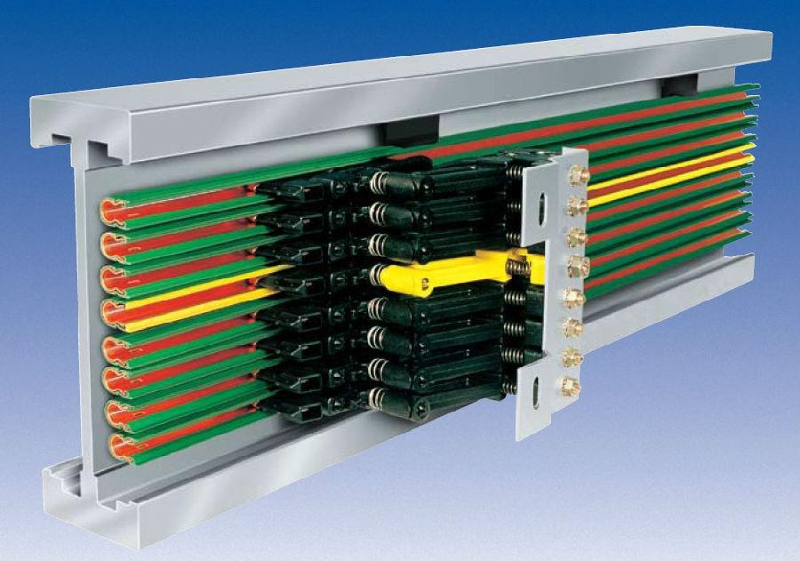 滑触线裸芯材质及其电源线的比较
